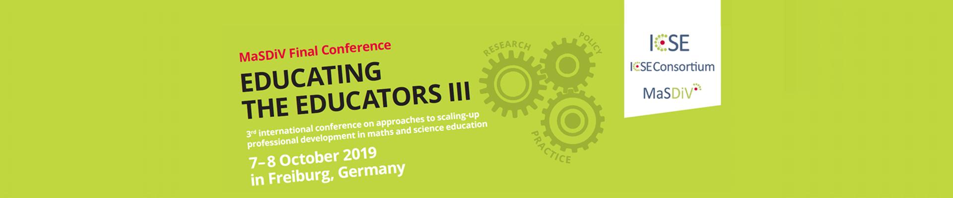"International Conference ""Educating the Educators III"" – ICSE"